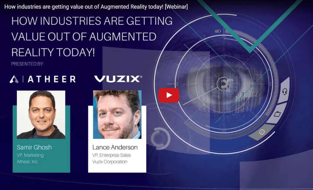 Business Value of Augmented Reality